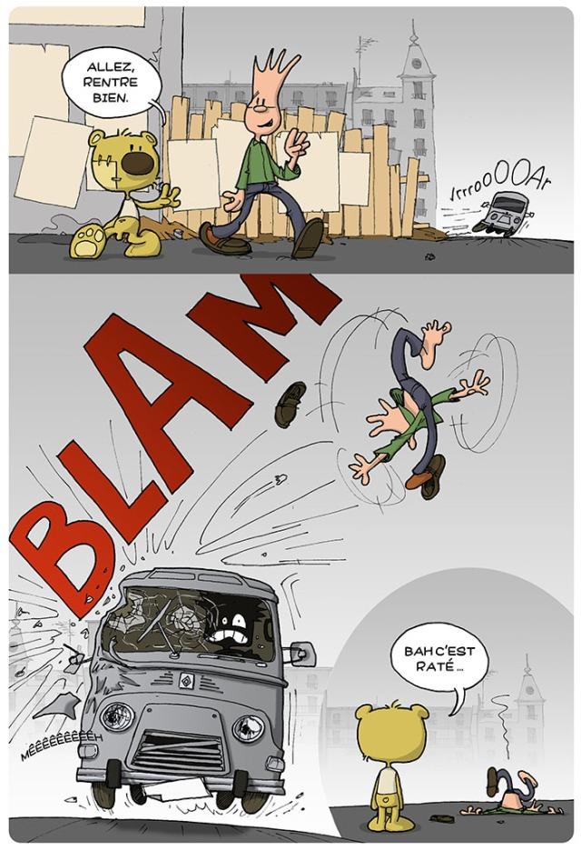 Accident de retour